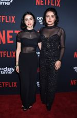 ARIELA BARER at One Day at a Time Season 2 Premiere in Los Angeles 01/24/2018