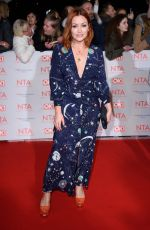 ARIELLE FREE at National Television Awards in London 01/23/2018