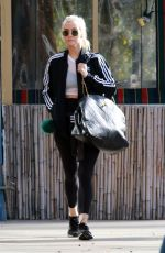 ASHELEE SIMPSON Arrives at a Gym in Studio City 01/29/2018