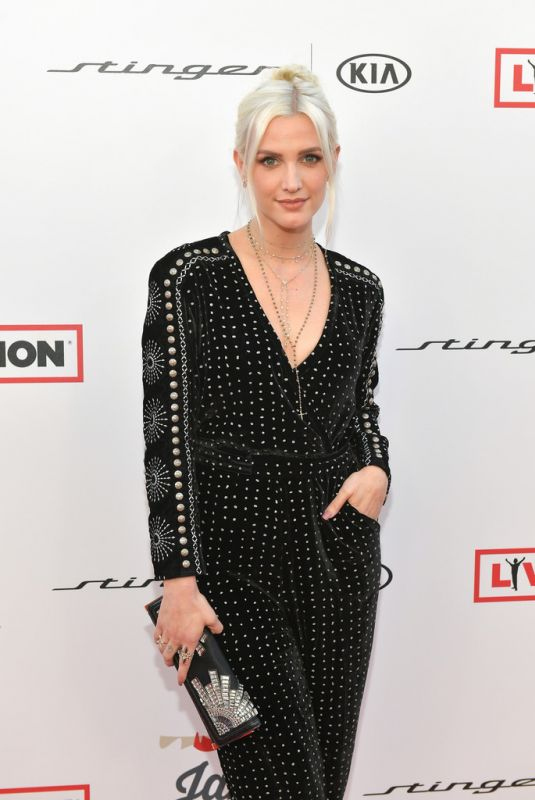 ASHLEE SIMPSON at Steven Tyler and Live Nation Presents Inaugural Janie's Fund Gala and Grammy 01/28/2018
