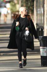 ASHLEE SIMPSON Heading to Gym in Studio City 01/27/2018