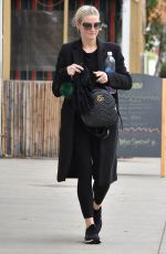ASHLEE SIMPSON Out and About in Los Angeles 01/03/2018