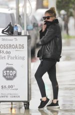 ASHLEY BENSON Out and About in West Hollywood 01/09/2018
