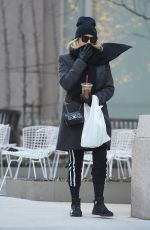 ASHLEY BENSON Out in New York 01/25/2018