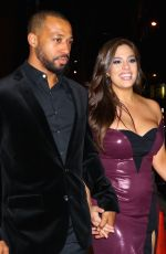 ASHLEY GRAHAM and Justin Ervin Night Out in New York 01/24/2018