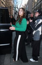 ASHLEY GRAHAM Arrives at Build Series in New York 01/24/2018
