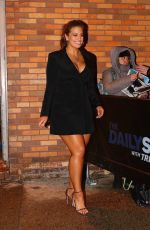 ASHLEY GRAHAM Leaves Daily Show with Trevor Noah in New York 01/08/2018