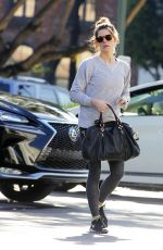 ASHLEY GREENE Shopping for Grocery and Flower in Beverly Hills 01/10/2018