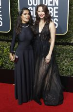 ASHLEY JUDD at 75th Annual Golden Globe Awards in Beverly Hills 01/07/2018