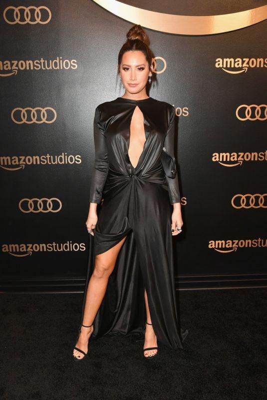 ASHLEY TISDALE at Amazon Studios Golden Globes Celebration at Beverly Hilton Hotel 01/07/2018