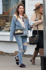 ASHLEY TISDALE Out for Coffee in Venice 01/16/2018