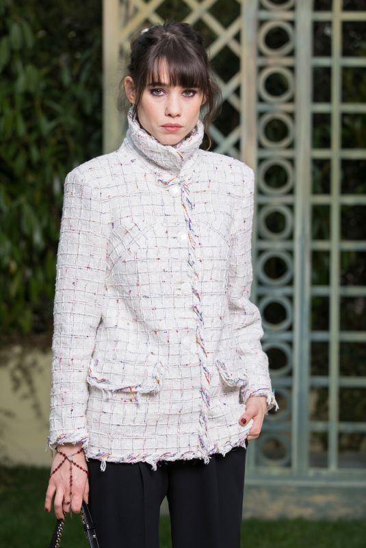 ASTRID BERGES-FRISBEY at Chanel Show at Spring/Summer 2018 Haute Couture Fashion Week in Paris 01/23/2018