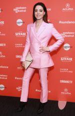 AUBREY PLAZA at An Evening with Beverly Luff Linn Premiere at Sundance Film Festival 01/20/2018