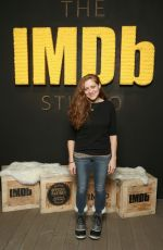 AUGUSTINE FRIZZELL at IMDB Studio at Sundance Film Festival in Park City 01/19/2018