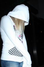 AVRIL LAVIGNE Leaves Madeo Restaurant in Los Angeles 01/04/2018