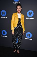 AYLYA MARZOLF at 2018 Freeform Summit in Hollywood 01/18/2018