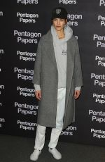 AYMELINE VALADE at The Post Premiere in Paris 01/13/2018