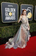 BARBARA MEIER at 75th Annual Golden Globe Awards in Beverly Hills 01/07/2018