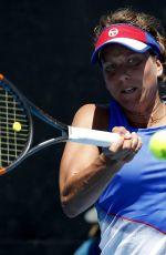 BARBORA STRYCOVA at Australian Open Tennis Tournament in Melbourne 01/18/2018