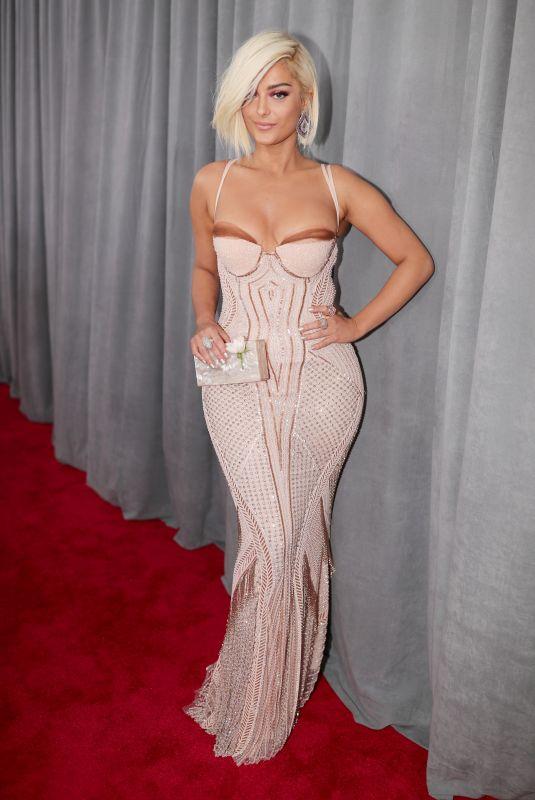 BEBE REXHA at Grammy 2018 Awards in New York 01/28/2018