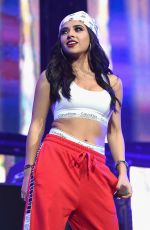 BECKY G at Calibash Show at Staples Center in Los Angeles 01/20/2018