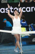 BELINDA BENCIC at 2018 Australian Open Tennis Tournament in Melbourne 01/15/2018