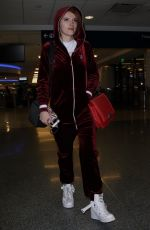 BELLA and DANI THORNE at LAX Airport in Los Angeles 01/20/2018
