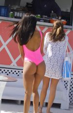 BELLA DARIA in Swimsuit on Vacation in Bahamas 01/04/2018