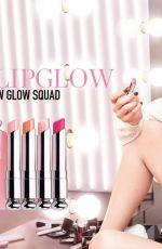 BELLA HADID for Dior Lip Glow, 2018 Campaign