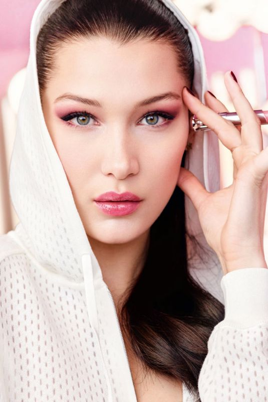 BELLA HADID for Dior Lip Glow, 2018 Campaign