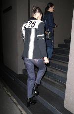 BELLA HADID Leaves Her Hotel in Milan 01/13/2018