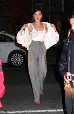 BELLA HADID Night Out in New York 01/26/2018