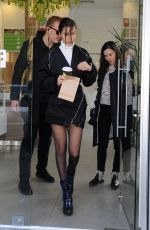 BELLA HADID Out and About in Milan 01/14/2018