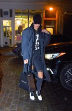BELLA HADID Out and About in New York 01/11/2018