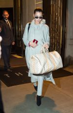 BELLA HADID Out and About in New York 01/12/2018