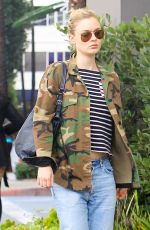 BELLA HEATHCOTE Out and About in Los Angeles 01/09/2018