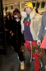 BELLA THORNE and Mod Sun Out at Salt Lake CIty 01/20/2018