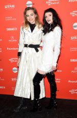 BELLA THORNE at Assassination Nation Premiere at 2018 Sundance Film Festival 01/21/2018