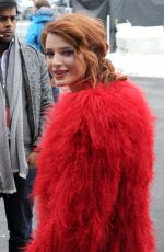 BELLA THORNE Out and About at Sundance Film Festival 01/22/2018