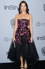 BELLAMY YOUNG at Instyle and Warner Bros Golden Globes After-party in Los Angeles 01/07/2018