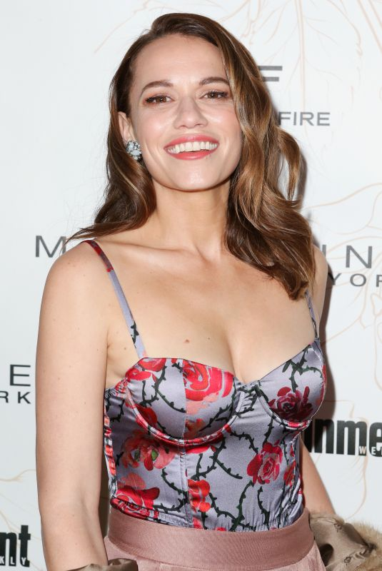 BETHANY JOY LENZ at Entertainment Weekly Pre-SAG Party in Los Angeles 01/20/2018