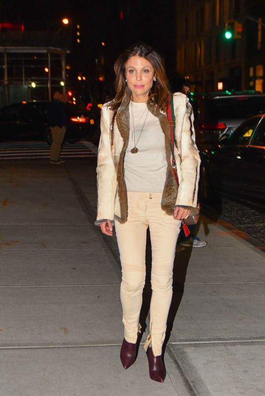 BETHENNY FRANKEL Out and About in New York 01/27/2018