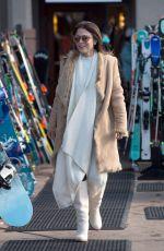BETHENNY FRANKEL Out Shopping in Aspen 12/31/2017