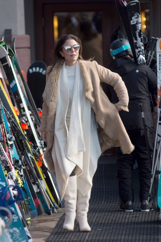 BETHENNY FRANKEL Out Shopping in Aspen 12/31/2017