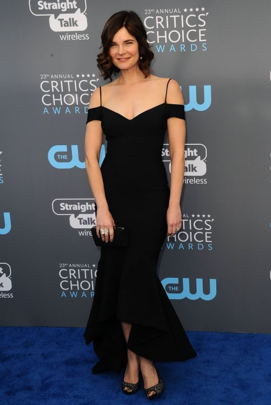 BETSY BRANDT at 2018 Critics' Choice Awards in Santa Monica 01/11/2018