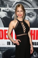 BETTINA OLIVIERI at Den of Thieves Premiere in Los Angeles 01/17/2018