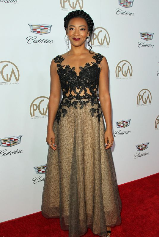 BETTY GABRIEL at Producers Guild Awards 2018 in Beverly Hills 01/20/2018