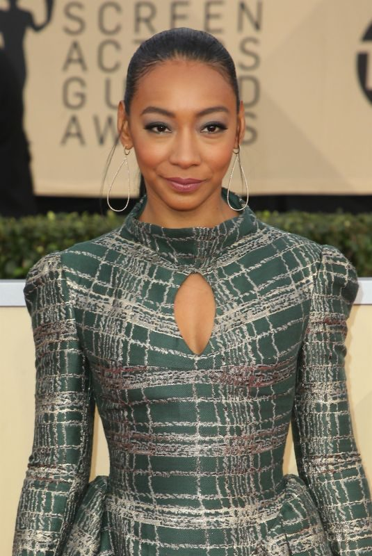 BETTY GABRIEL at Screen Actors Guild Awards 2018 in Los Angeles 01/21/2018