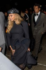 BEYONCE and Jay Z at Catch Restaurant in New York 01/28/2018