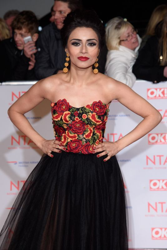 BHAVNA LIMBACHIA at National Television Awards in London 01/23/2018